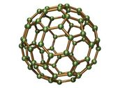 Isolated C80 Fullerene — Stock Photo