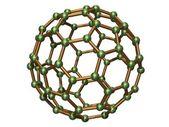 Isolated C80 Fullerene — Stock Photo