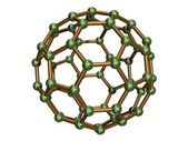Isolated C60 Fullerene — Stock Photo