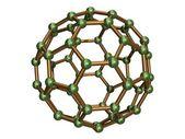 Isolated C60 Fullerene — Stock Photo