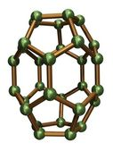 Isolated C30 Fullerene — Fotografia Stock