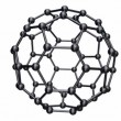 Stock Video: Rotating Chrome C60 Fullerene