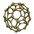 Stock Photo: C50 Fullerene