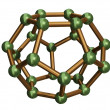 Stock Photo: C24 Fullerene