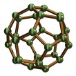 Stock Photo: C28 Fullerene