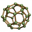 Stock Photo: C32 Fullerene