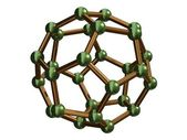 C28 Fullerene — Stock Photo