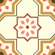 Seamless ornament tiles — Vector de stock #24398683