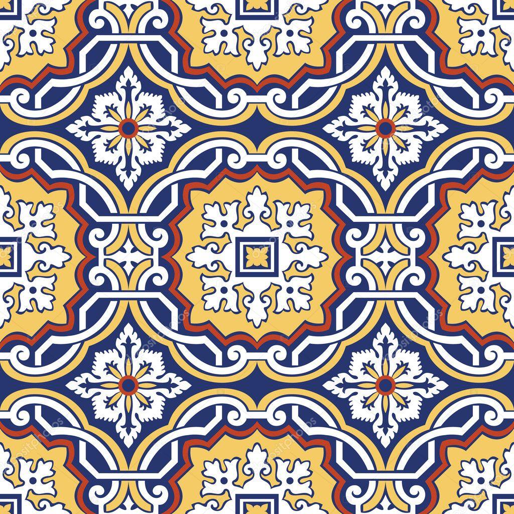 Azulejos Wallpaper — Cuadros