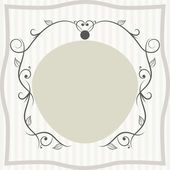 Luxury vintage frame — Stock Vector