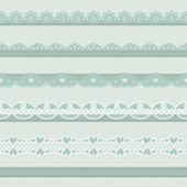 Vintage borders — Stock Vector