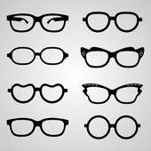 Gläser — Stockvektor