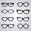 Set of glasses — Stock Vector #30003475