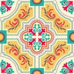 Seamless colourful ornament tiles — Stock Vector #30888351
