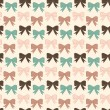 Bows pattern — Stockvectorbeeld