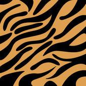 тигр шаблон — Cтоковый вектор