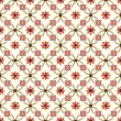 Old floral tiles — Stock Vector