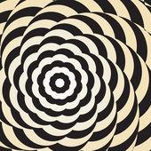 Optical illusion — Stock Vector