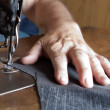 Sewing machine handiwork — Stock Photo #12442802