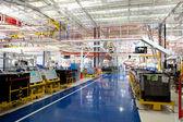 Wnętrze budynku fabryki — Zdjęcie stockowe