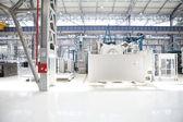 Máquina robótica de maquinaria industrial — Fotografia Stock