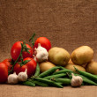 Fresh organic food — Stock Photo