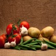 Stock Photo: Fresh organic food