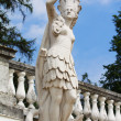 Stock Photo: Greek goddess sculpture