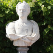 Stock Photo: Stone bust in park