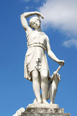 Neo-Classical sculpture of a women — Stock Photo
