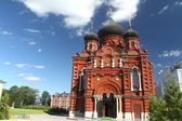 Orthodox cathedral in Tula — Stock Photo