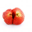 Royalty-Free Stock Photo: Ripe and juicy strawberry