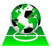 World of soccer field — Stock Photo