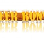 Постер, плакат: BEER ALPHABET letters BEER BONGS