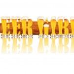 ������, ������: BEER ALPHABET letters BEER GIRLS