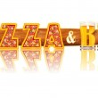 ������, ������: BEER ALPHABET letters PIZZA and BEER
