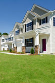 New residential houses — Stock Photo