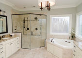 Upscale bathroom — Stock Photo