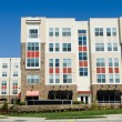 Modern apartment complex exterior — Stock Photo #23578939