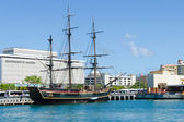 "HMS ""Bounty"" in port of San Juan, Puerto Rico — Stock Photo"