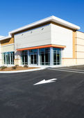 New commercial retail small office building — Stock Photo