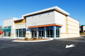 New commercial retail small office building — Stockfoto