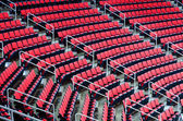 Indoor arena seats — Stock Photo