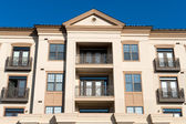 Modern apartment complex exterior — Stock Photo