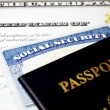 US naturalization documents — Stock Photo