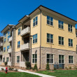 Apartment complex exterior — Stock Photo #43859541