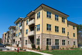 Apartment complex exterior — Stock Photo
