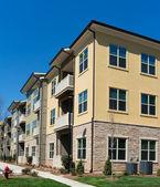 Apartment complex exterior — Foto Stock
