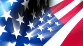 American Flag 0112 — Stock Photo