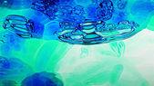 Blue Fluid 0201 — Stock Photo